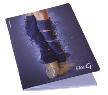 LikeG - A5 Notizbuch liniert